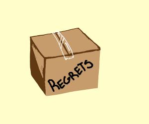 A box of regret
