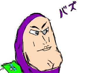 Anime Buzz Lightyear