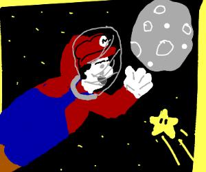 Mario Odyssey Moon
