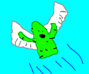 Cactus with wings