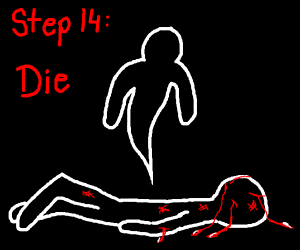 step 13 - get beat up