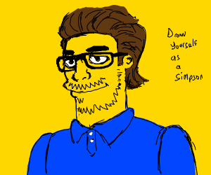 draw yourself as a simpson
