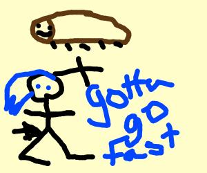Cockroach Jogging