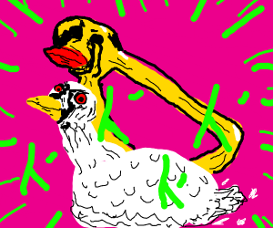 duck is a jojo reference
