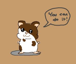 Inspirational Hamster