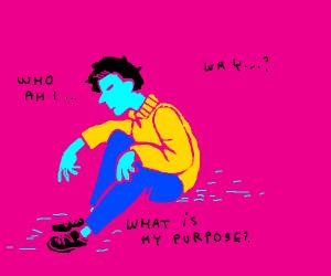 Boy Having an Identity Crisis