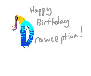 Happy birthday drawception D