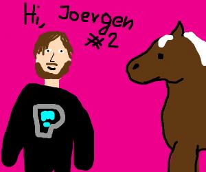 Pewdiepie's horse Joergen#2