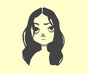 annoyed teen
