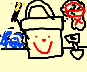 Happy magic bucket (he may be jewish :D)