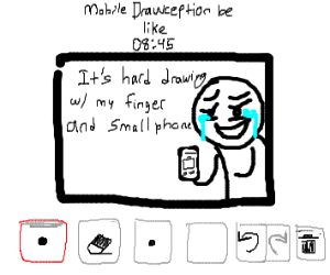 Mobile Drawception be like