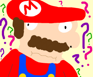 mario is confused