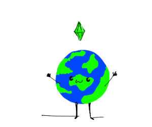 the earth is a sim