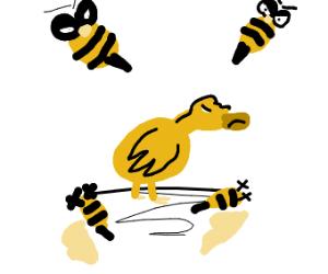 Duck vs Bees