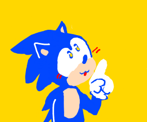 Sonic points up