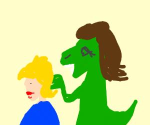 Alligator Hairdresser