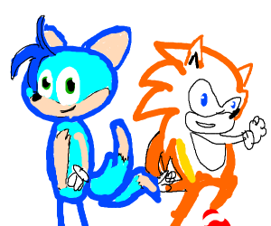 sonic and tails have switched fur colors