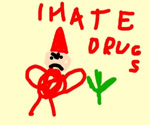 Gnome hates drugs
