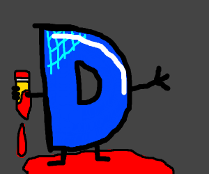 Drawception D has become a murderer