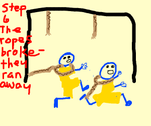 Step 5: They were hanged