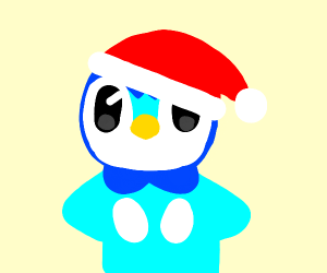 Christmas Piplup! :3