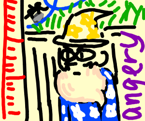 short wizard cant ride a roller coster