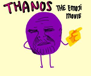 Emoji movie thanos