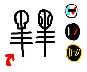 The Skeleton Clique