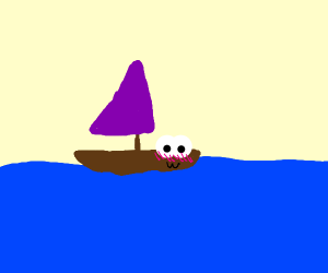 A cute boat uwu