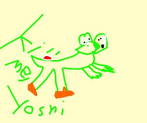 Yoshi wants to you to kill him