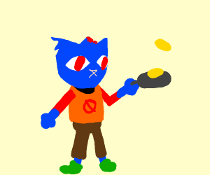 Mae (NiTW) cooking