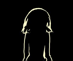 human facing backwards