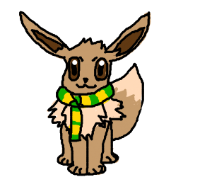 Eevee with a scarf