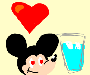 Mickey mouse LOVES walter