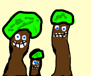 A family of trees