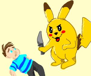 pikachu please don't kill the innocent child