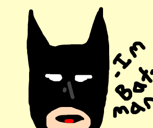 its a me batman