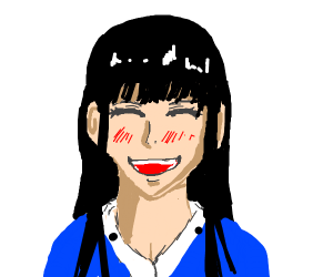 Basic anime girl