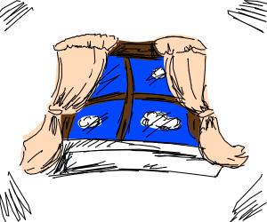 Dr. Seuss style Window
