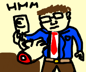Accountant buying a Hand