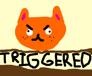 Garfield is triggered