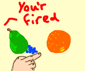 fruits are fired