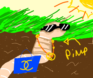 worm pimp