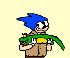 Sonic as Steve Irwin