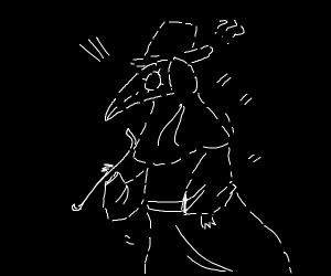 Invisible Plague Doctor
