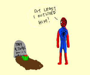 Spooderman out lives iroonman