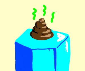 Poop on a hexagon