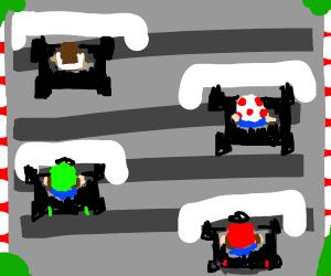 Mario Cart ( Mario and DK)