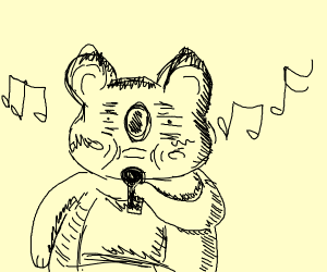 mammal singing