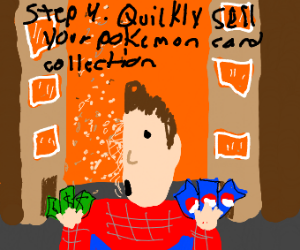 Step 3 - Become Spider-man and get snapped.